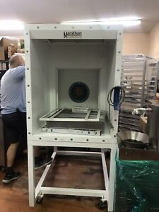 Spray Booth Self Contained Small Parts Paint Booth Marathon Spb 30