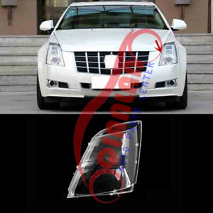 For Cadillac Cts 2008 2013 Left Side Headlight Lens Cover Sealant Glue Replace