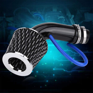 3 Universal Car Cold Air Intake Filter Alumimum Induction Kit Pipe Hose System