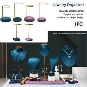 Necklace Display Desktop Earrings Holder Hanging Watches Jewelry Organizer Stand