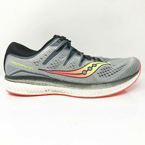 Saucony Mens Triumph Iso 5 S20463 1 Gray Running Shoes Lace Up Low Top Size 11 W