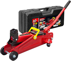Big Red T820014s Torin Hydraulic Trolley Service Floor Jack With Blow Mold Carry