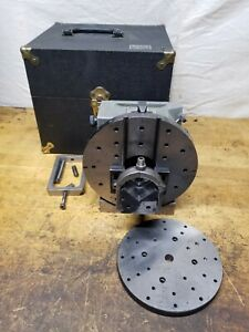 Harig Grind All No 2 Spin Indexer V Block Fixture 4 000 Center Height W case