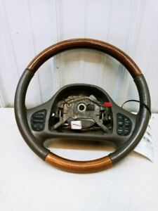 2003 Mercury Grand Marquis Driver Steering Wheel Faded Buttons Oem Used