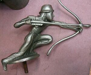 1920s Pierce Arrow Radiator Cap Mascot