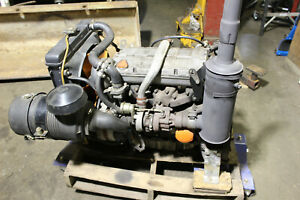 Lombardini 1204t 4 Cylinder Diesel Engine 42hp 3600 Rpm With Accessories