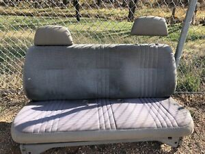 1980 s And 1990 s Chevy Truck Front Bench Seat With Headrests
