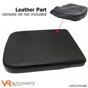 Synthetic Leather Black Center Console Armrest Cover For Dodge Ram 02 08