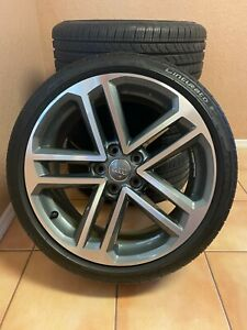 Set Of 4 Audi A3 2017 2018 2019 18 Factory Original Wheel Rim Tires