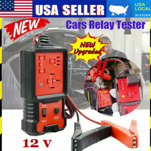 12v Electronic Automotive Relay Tester For Cars Auto Battery Checker Ae100 Usa