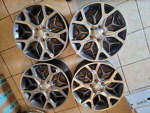2018 2021 Jeep Grand Cherokee 20 Factory Oem Wheels Set Of4 Free Shipping