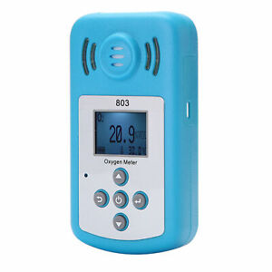Oxygen Meter O2 Concentration Detector With Lcd Display Sound light Alarm N1b3