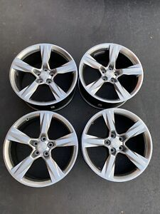 20 Chevy Camaro Ss Factory Wheels Rims Oem Set Staggered