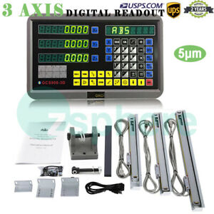 3 Axis Digital Readout Dro For Milling Lathe Machine With Precision Linear Scale