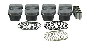 Mahle Motorsport Piston Kit 930217800 3 800 Flat Top For Chevy 5 3l Ls