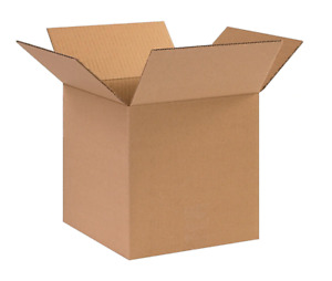 12x12x12 Corrugated Shipping Boxes 25 Boxes