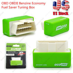 Eco Obd2 Benzine Economy Fuel Saver Tuning Box Chip For Petrol Car Gas Saving Us