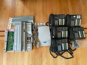 Nortel Complete Phone System With 5 Phones t7316e