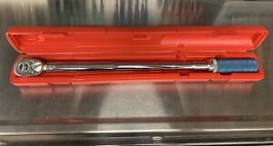 Snap On 1 2 Torque Wrench Qjr 3200 Series C Excellent Condition