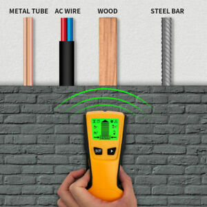 Lcd Stud Finder Wall Scanner Center Finding Cable Metal Detector Ac Wire Tester