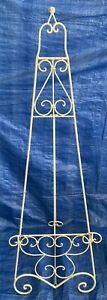 Large Vintage Iron Easel Display Portraits Pictures Paintings Art 56