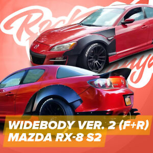 Bodykit Rocketvanya For Mazda Rx8 S2 s3 Ver 2