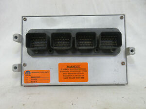 03 Dodge Ram Ecm Engine Control Module R6040474ag