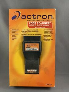 Nib Actron Cp9001 Code Scanner For 1982 1993 Gm Vehicles Saturn