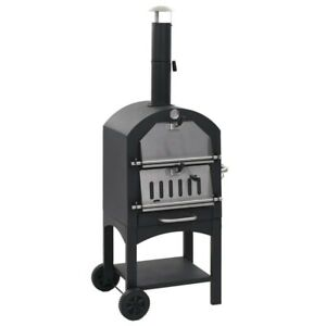 Outdoor Pizza Oven Wood Burning Diy Portable Pizza Maker Family Camping Cooker