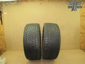 Two 2 Continental Extreme Contact Dws 06 A s 245 45 Zr18 100y Set Of 2 Tires