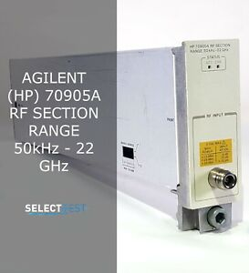 Agilent hp 70905a 50 Khz 22 Ghz Rf Section For 70000 Series look ref G