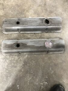 Chevrolet Corvette Lt 1 Camaro Z 28 69 70 Aluminum Valve Covers With Drippers