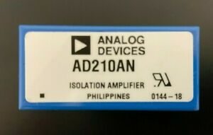 Ad210an Isolation Amplifier Ic Ad210 New Old Stock Analog Devices