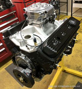 350ci Small Block Chevy Street Engine Efi 395hp 440tq Self tuning Dyno Tuned