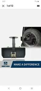 Hooke Spare Tire Jerry Can Holder W Tall Tray For Jeep Wrangler Tj Jk Jl 97 20