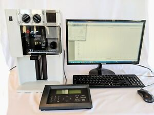 Beckman Coulter Z2 Particle Counter Size Analyzer Touchpad Pc And Software