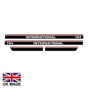 Decal Set For International 784 Tractors