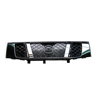 Front Grille Fits 2008 2014 Nissan Titan Pickup 62310zr00a
