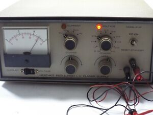 Heathkit Ip 27 Working Vintage Test Regulated L v Power Supply No Manual