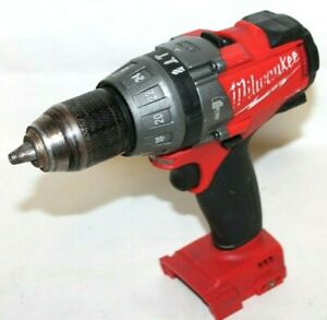 Milwaukee 2604 20 Redlithium Fuel Cordless 1 2 Hammer Drill driver Tool Only