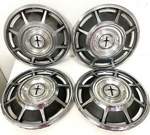 Original 1966 1967 1968 1969 Chevrolet Corvair Monza 13 Hubcaps Wheel Covers