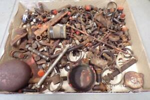 30 lbs Original Allis Chalmers Wd wd45 Tractor Bolts Small Parts Etc Ac Wd45