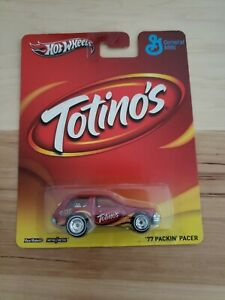 Hot Wheels Packing Pacer Totino S General Mills Pop Culture Real Riders
