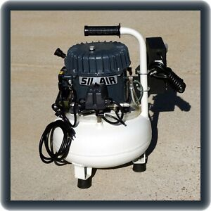 Silentaire Sil air 50 15a Air Compressor With Optional Fan Set Up For Engraving