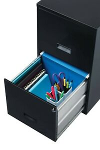 New Filing Cabinet 2 drawer Steel File Cabinet Lock Home Office Black Usa