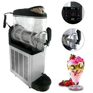 12l Commercial Frozen Drink Slush Making Machine Smoothie Ice Maker 700w