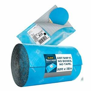 Scotch Flex And Seal Shipping Roll 50 Ft X 15 In Eliminates Time Supplies Was