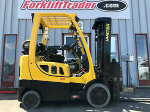 2016 Hyster S50ft 5000lb Cushion Tire Forklift Lifttruck With Ssfp