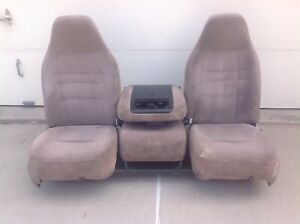 Ford Pickup Truck Front Bucket Seat 40 20 40 1990 S Models