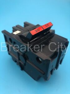 Federal Pacific Na220 20 Amp 2 Pole Type Na Stab lok Thick Fpe Circuit Breaker